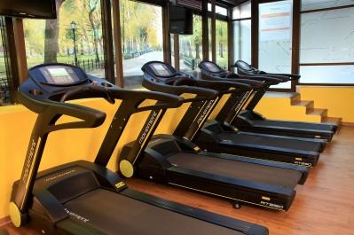 Sala de Fitness no Bourbon