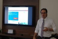 Daniel Machado apresentou aplicativo CO2 Footprint /Divulgação