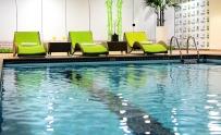 Piscina do hotel Holiday Inn Parque Anhembi
