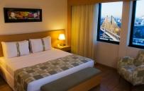 Suíte do hotel Holiday Inn Parque Inn Parque Anhembi