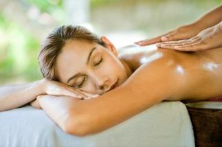 Massagem no SPA Java Jiwa -