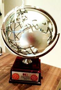 "Troféu ""2014 Global Partners In Safety Award"""