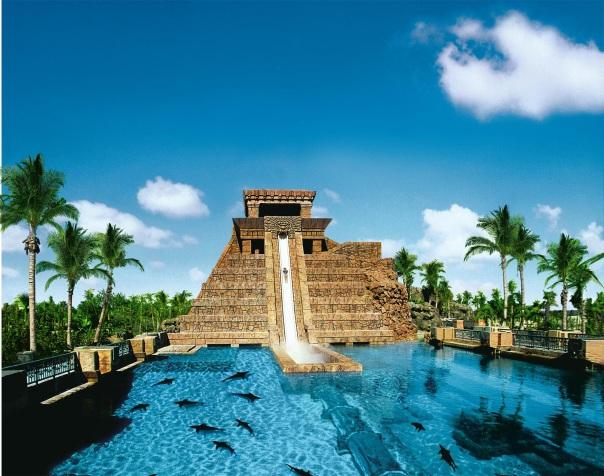 Juntamente com o habitat marinho do resort, o Aquaventure foi um dos parques mais votados pelos viajantes (Divulgação / Atlantis Paradise Island)
