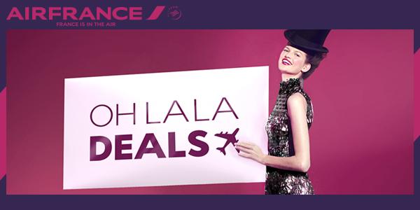 Oh La La Deals, da Air France Divulgação