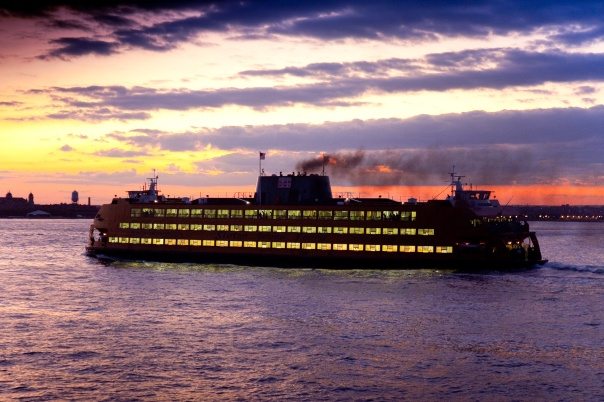 Visitar Staten Island é também um passeio pelo rio para admirar a famosa skyline de Nova York (NYC & Company / Malcolm Brown)