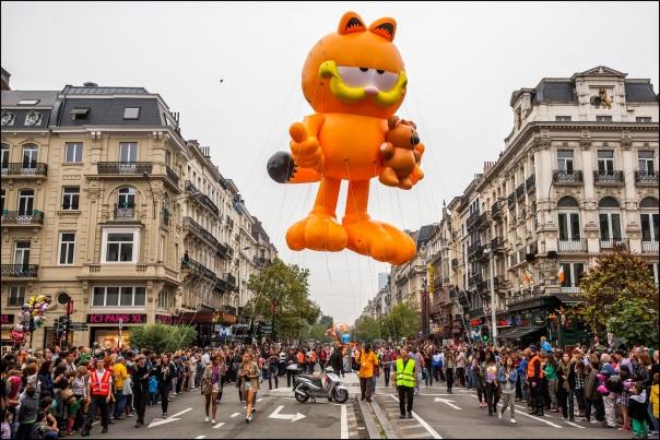 Fãs das histórias em quadrinhos invadem Bruxelas durante o Comic Strip Festival