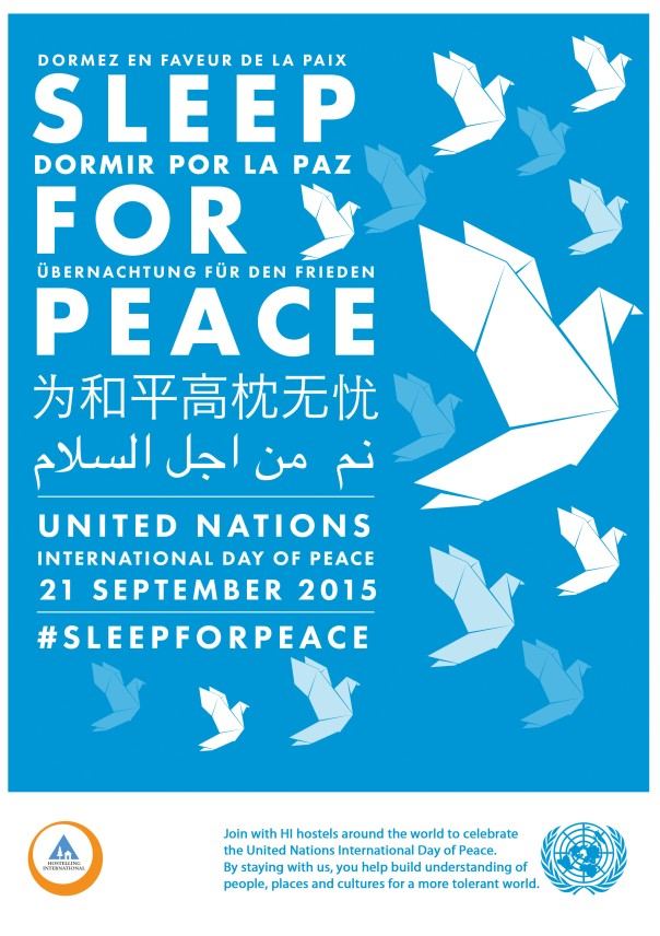 sleep for peace 2015 poster A4