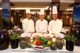 Chef's do Festival Gastronômico Coreano
