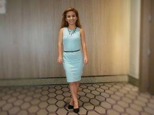 Bruna Adestro formanda em 2012 pelo programa faz parte do time do InterContinental SP