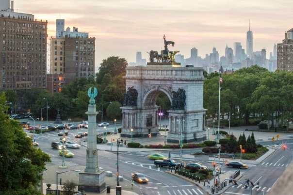 Grand Army Plaza, no Brooklyn, será o ponto de partida da Rock 'n' Rool Brooklyn Half Marathon