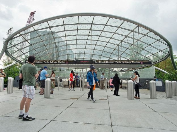 34 St-Hudson Yards é a primeira estação do sistema de metrô inaugurada nos últimos 26 anos