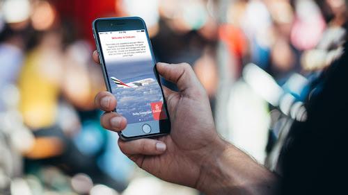 Aplicativo para celular da Emirates: agora disponível em português