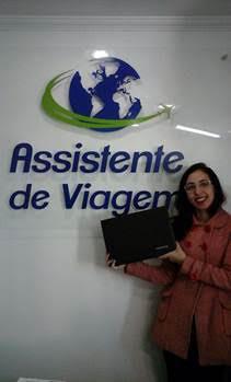 Agente da Assistente de Viagem resgatou um notebook da Samsung