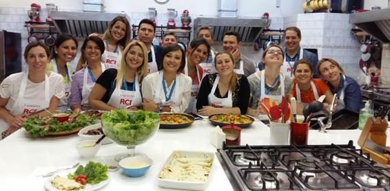 Equipe RCI que realizou o treinamento Master Chef