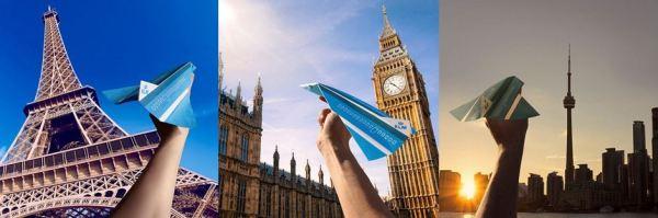 Paper Plane da KLM