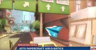 O game Jets: Paper Plane da KLM foi parar dentro do mobile