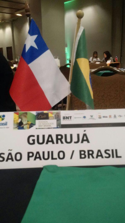 Rodadas de Negócios BNT Brasil, no Chile Divulgação