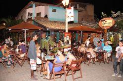 Restaurantes lotados durante o Tempero no Forte