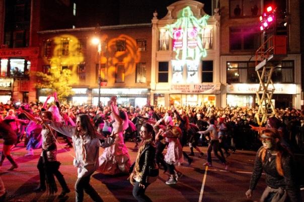 Village Halloween Parade, um dos desfiles mais tradicionais da data (NYC & Company / Joe Buglewicz)