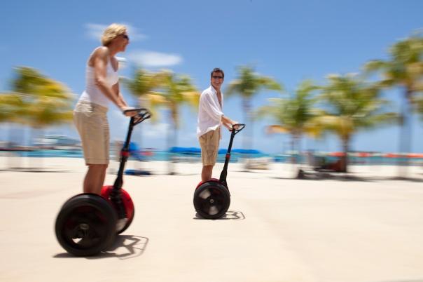 Os Segway Tours são uma das apostas de St. Maarten para o turista explorar a ilha
