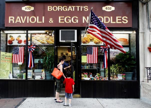 Borgatti's Raviolo & Egg Noodles é um dos mais autênticos e tradicionais restaurantes da região