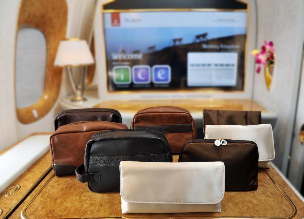 Novas nécessaires já estão disponíveis em todos os voos da Emirates