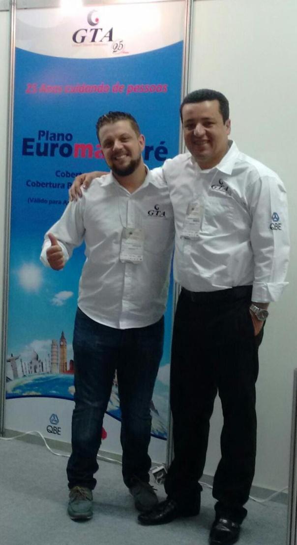Anderson Marques, coordenador de vendas; e Reginaldo Tarcílio, representante da GTA de Belo Horizonte