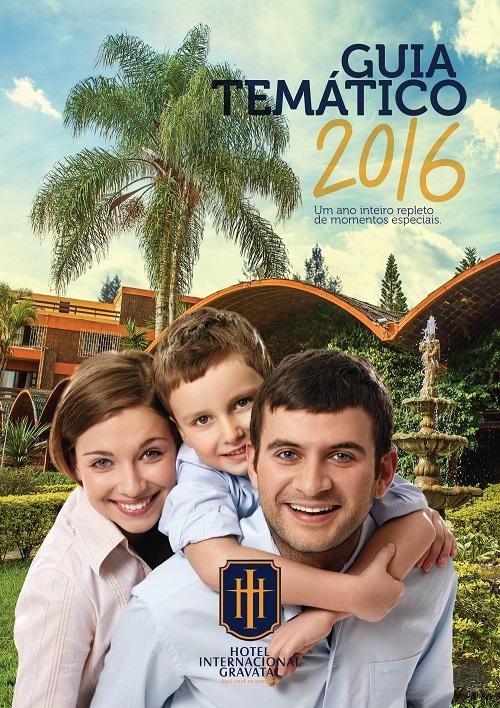Capa - Guia Temático 2016 - Hotel Internacional Gravatal