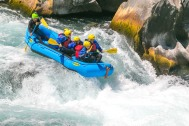 Rafting em Huilo Huilo