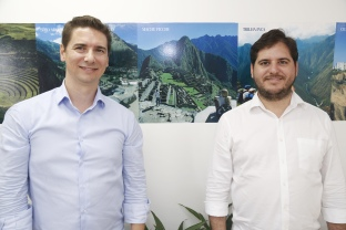 Ricardo e Willian Cavalcante, da Machu Picchu Brasil Divulgação/Machu Picchu Brasil